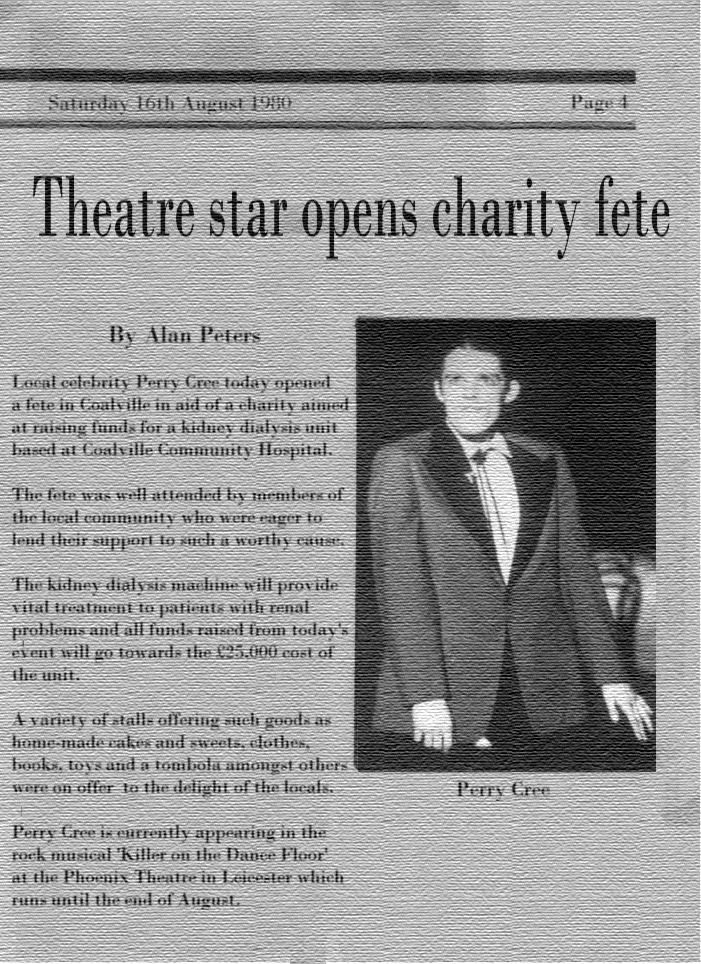 Charity Fete Opening