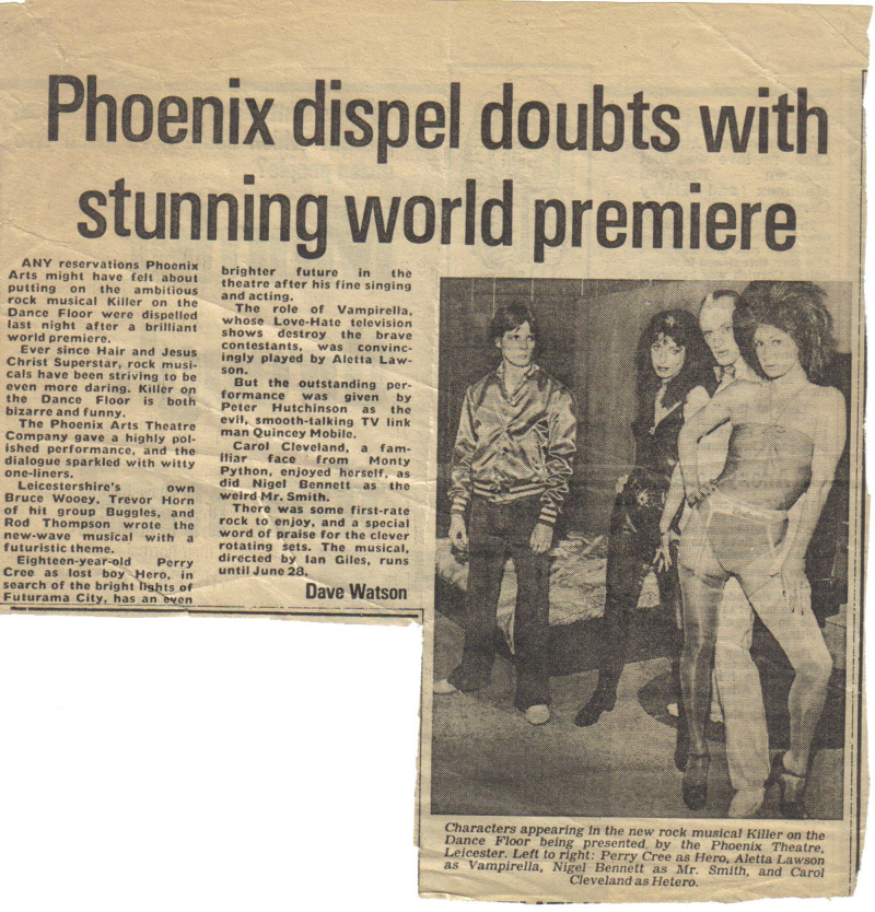 Promotional Newspaper Article